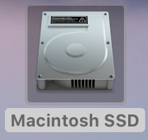 一般的なHDDアイコン