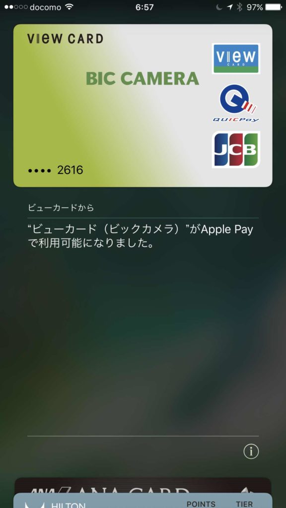 Apple Pay Viewカード