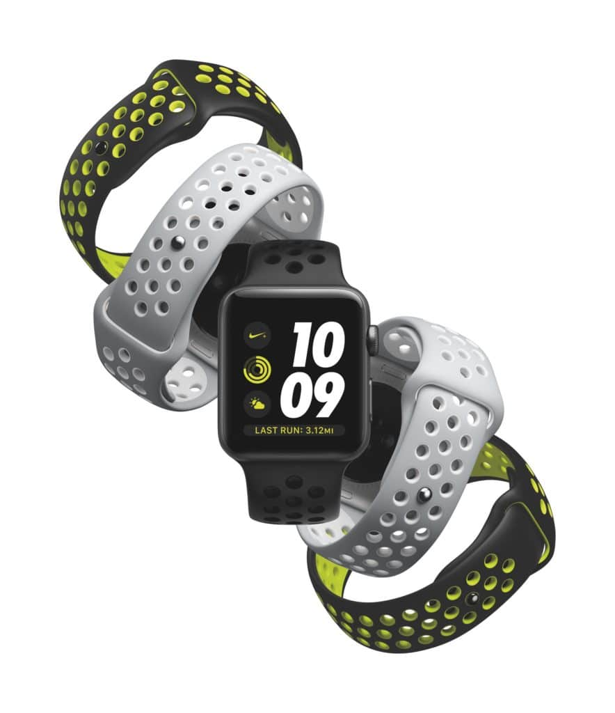 Apple Watch Nike Plus Copyright © 2016 Apple Inc.