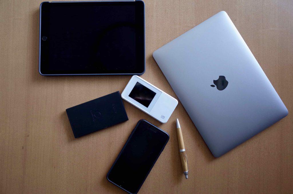 WiMAXとMacBook達