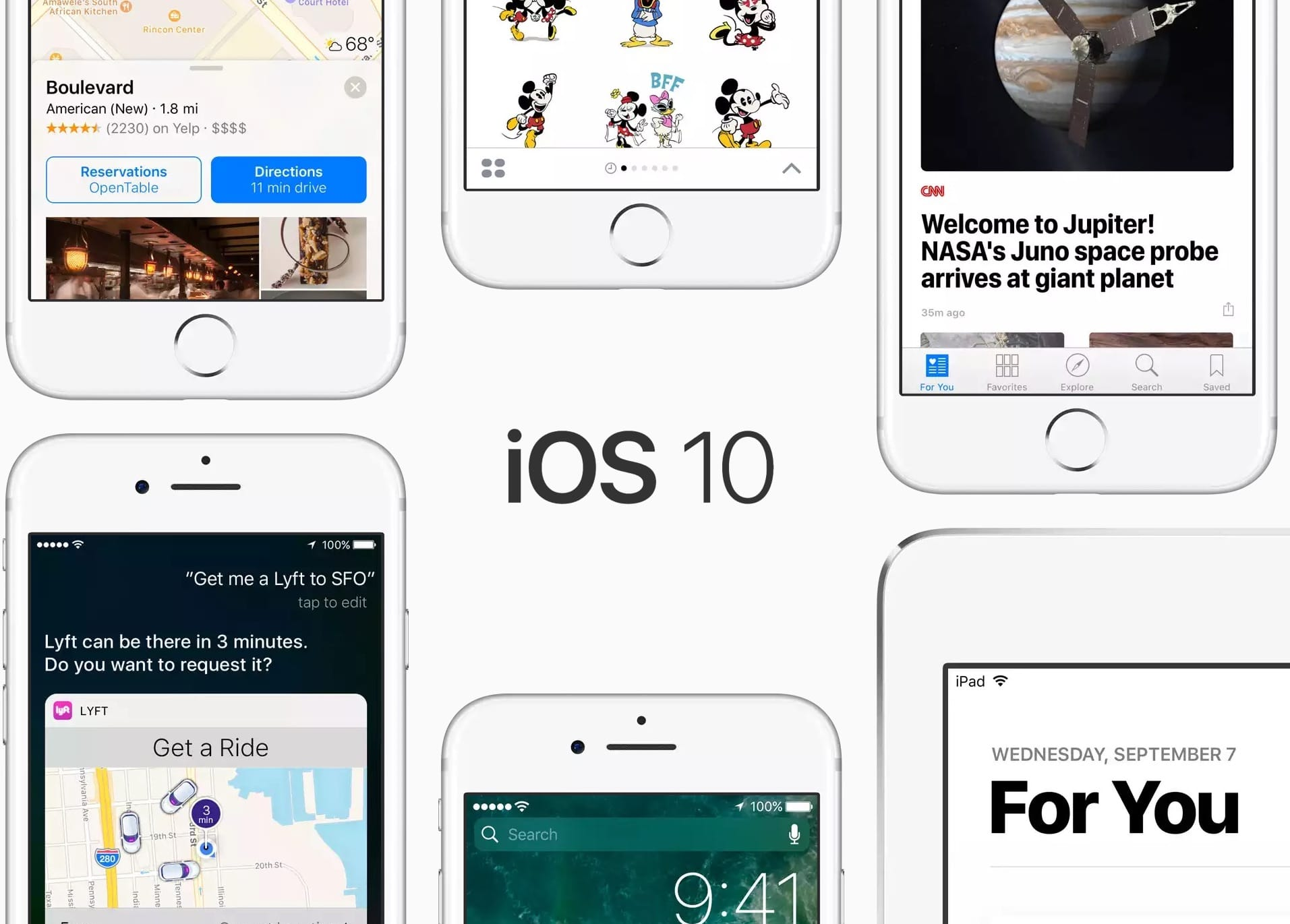 iOS10 Copyright © 2016 Apple Inc.