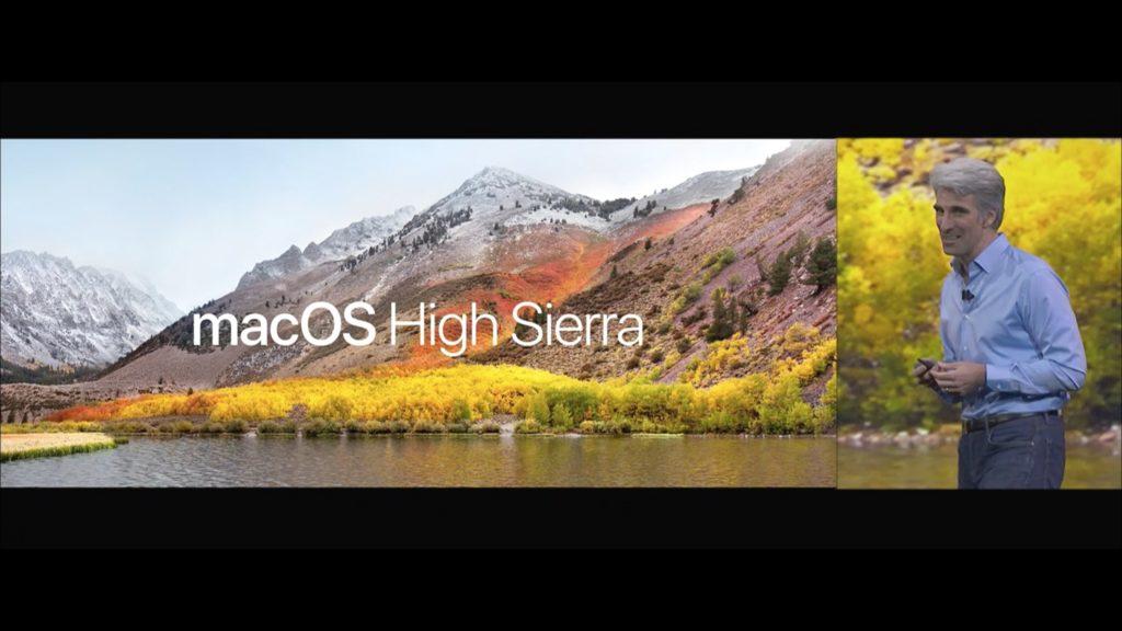 WWDC macOS High Sierra