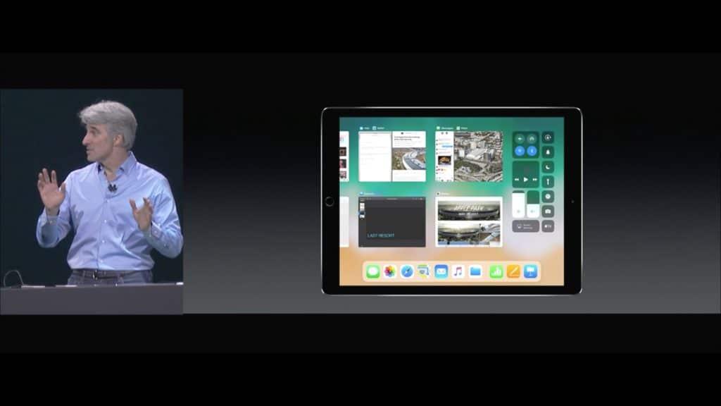 WWDC iOS 11 iPad